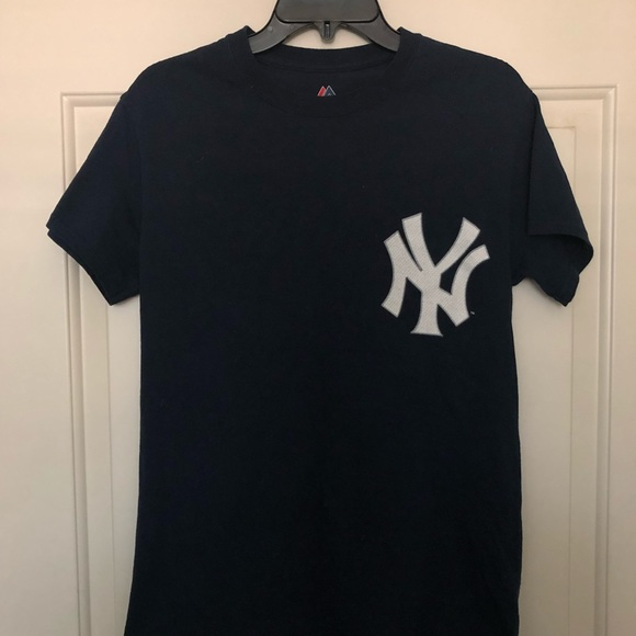 reputable site d8870 1a745 MLB NY YANKEES AARON JUDGE JERSEY T- SHIRT SZ: S